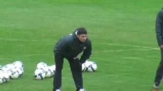 Leo Franco analiza al Atlético de Madrid antes del derbi
