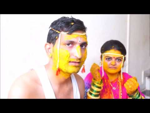 Marathi Wedding-Haladi (Amol and Devyani)