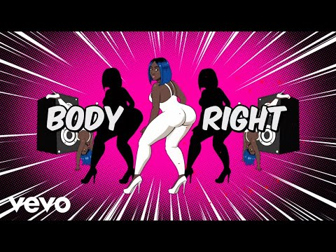 Spice - Body Right (Animated Lyric Video)