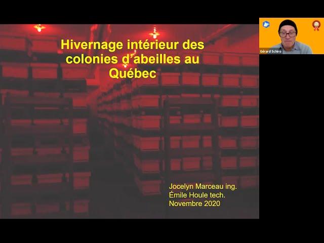 Hivernage intérieur des colonies d'abeilles au Québec