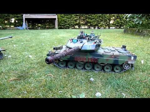 RC Tank Leopard System IBU 2 Pro + Tank Abrams Full Metal 24-04-2016 (00008)