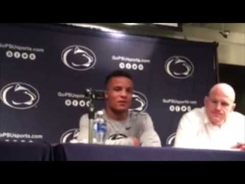 Penn State post-match news conference after rout of Illinois