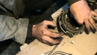 Как заменить диодный мост и ротор в генераторе ВАЗ