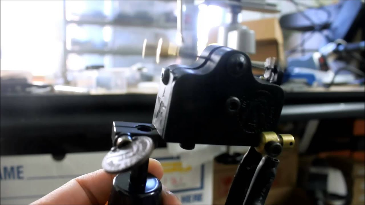 rotary tattoo machine set up for color packing youtube