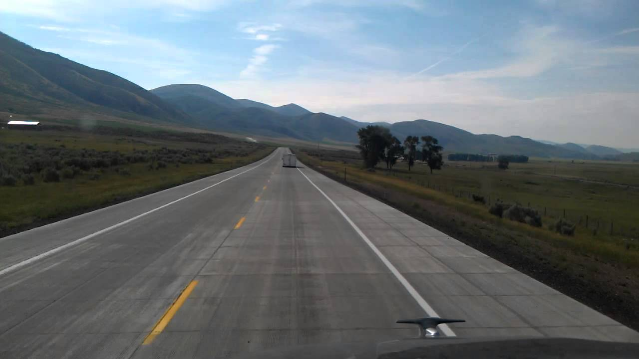 Idaho - Eastbound US Highway 30 just East of Montpelier ...