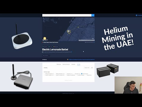 HNT Mining in the UAE: Locations and Miner Types