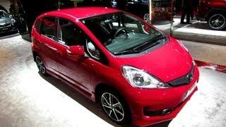 2013 Honda Jazz Si - Exterior and Interior Walkaround - 2012 Paris Auto Show