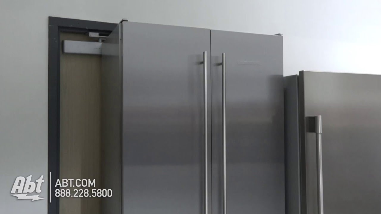 Liebherr 36 Integrated Panel Ready Built In French Door Refrigerator