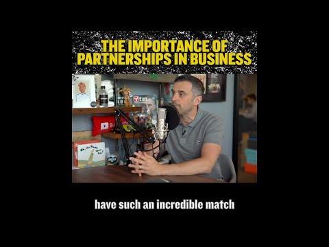 Importance of Partnerships in Business | Gary Vaynerchuk
