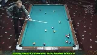 Efren Reyes VS  Earl Strickland The Battle of Legends 5x10 8-Ball Uncut Original
