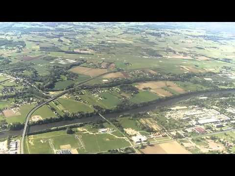 Ryanair 737 amazing takeoff from Bergerac [HD]