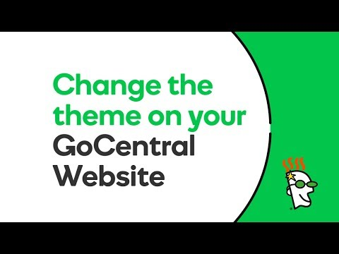 How to Change the Theme on your GoCentral Website | GoDaddy