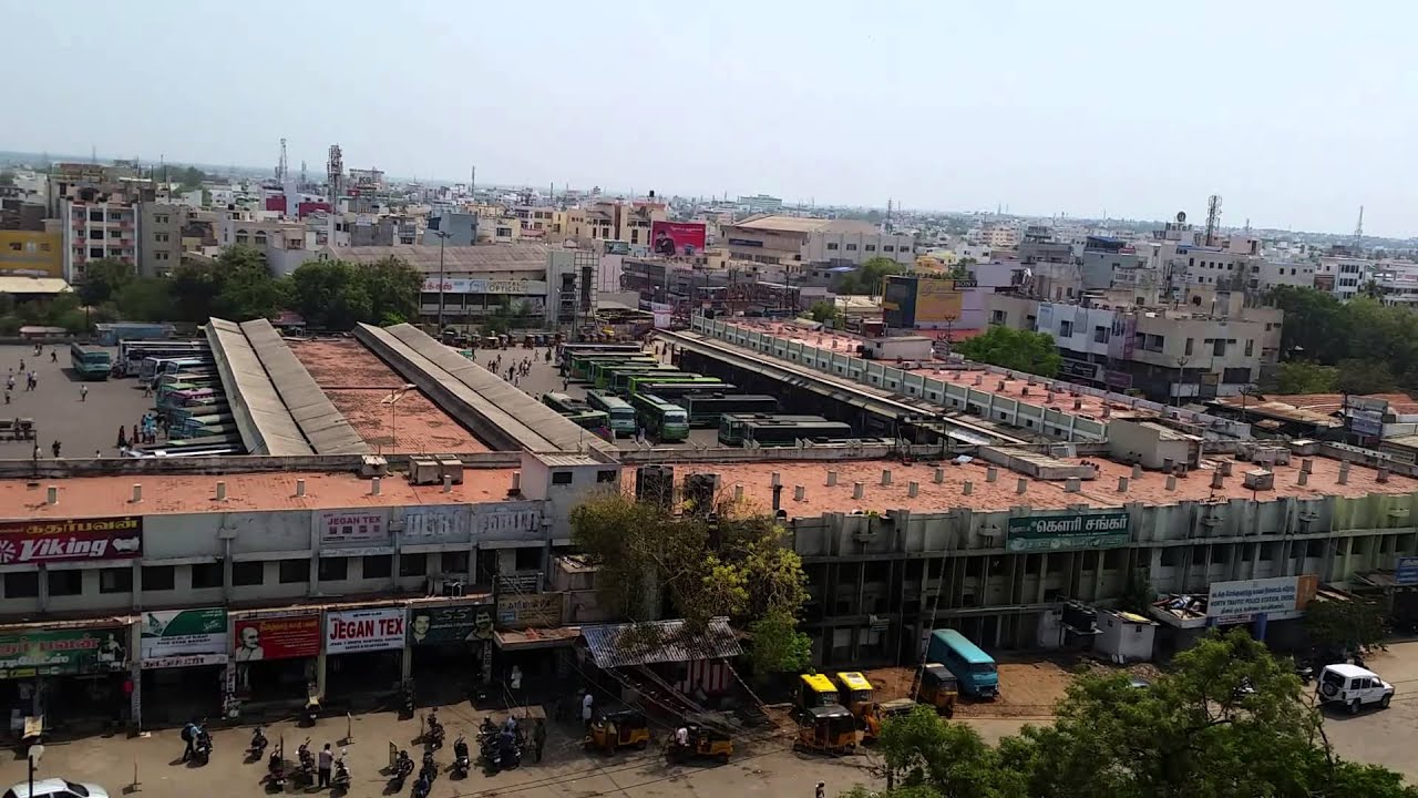 Erode Bus stand Day Time View