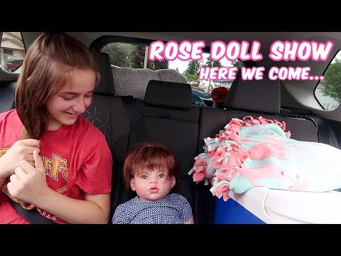 On Our Way to the ROSE Doll Show 2019 | Reborns Road Trip