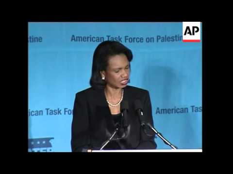 Sec of State says Palestinians deserve to live a better life