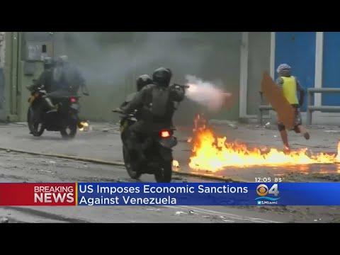 US Imposes Economic Sanctions Against Venezuela