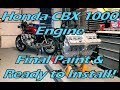 How to Rebuild a Honda CBX 1000 Engine - Part 24 - Re-assembly Part 11 - Painted & Ready to Install