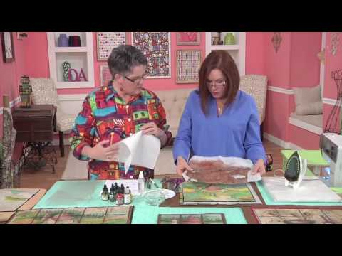 Quilting Arts TV - Episode 1702 - Paint and Stitch