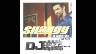 Shaggy - it wasnt me (remix Dj Haze) (blend Transition 94 -120 from reggae to dembow)
