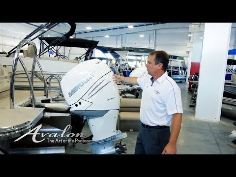 2018 Pontoon Boats - ENGINE SELECTION | Choosing the Right Motor for Your Boat | Avalon Pontoons