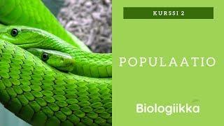 Eläinmaailman populistit - Populaatio