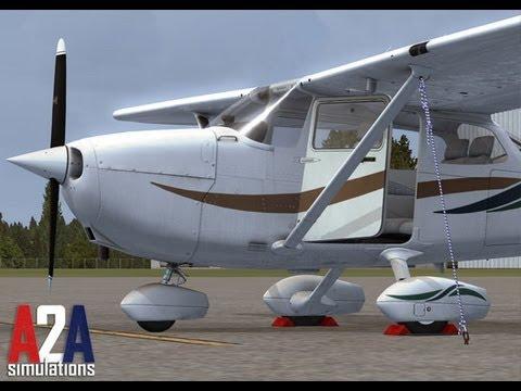 FSX | A2A Cessna 172 Startup Voice Tutorial