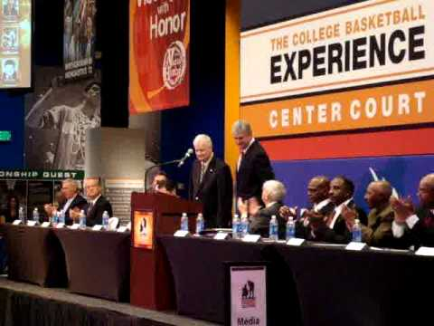 Tex Winter hall of fame induction