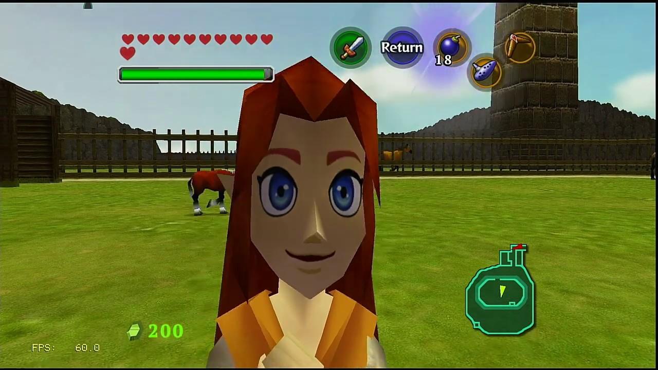 RetroArch Legend of Zelda Ocarina of Time (N64) HD TEXTURES (60FPS) -  Nintendo Switch