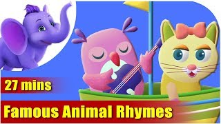 Animal Rhymes Volume 1 - Ultra HD (4K) Best Collection of Rhymes for Children in English