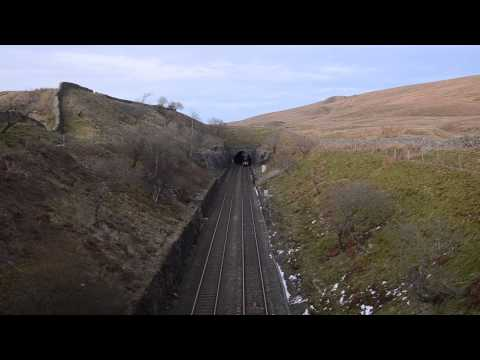 6233 Duchess of Sutherland Emerges from Blea Moor Tunnel