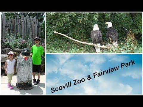 VISITor in Scovill Zoo & Fairview Park Decatur IL