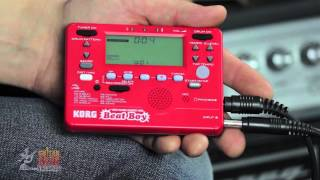 Players Planet Product Overview - KORG Beatboy Drum Machine / Recorder / Tuner