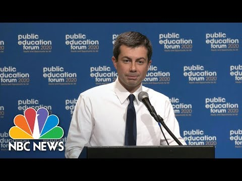 Mayor Pete Buttigieg Questioned For Fundraising With Charter School Advocate  NBC News