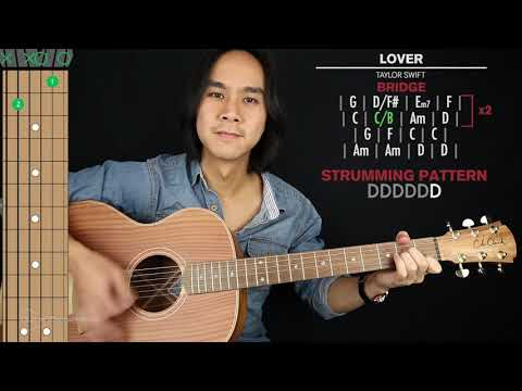 Lover Guitar Cover Taylor Swift 🎸 Tabs + Chords 