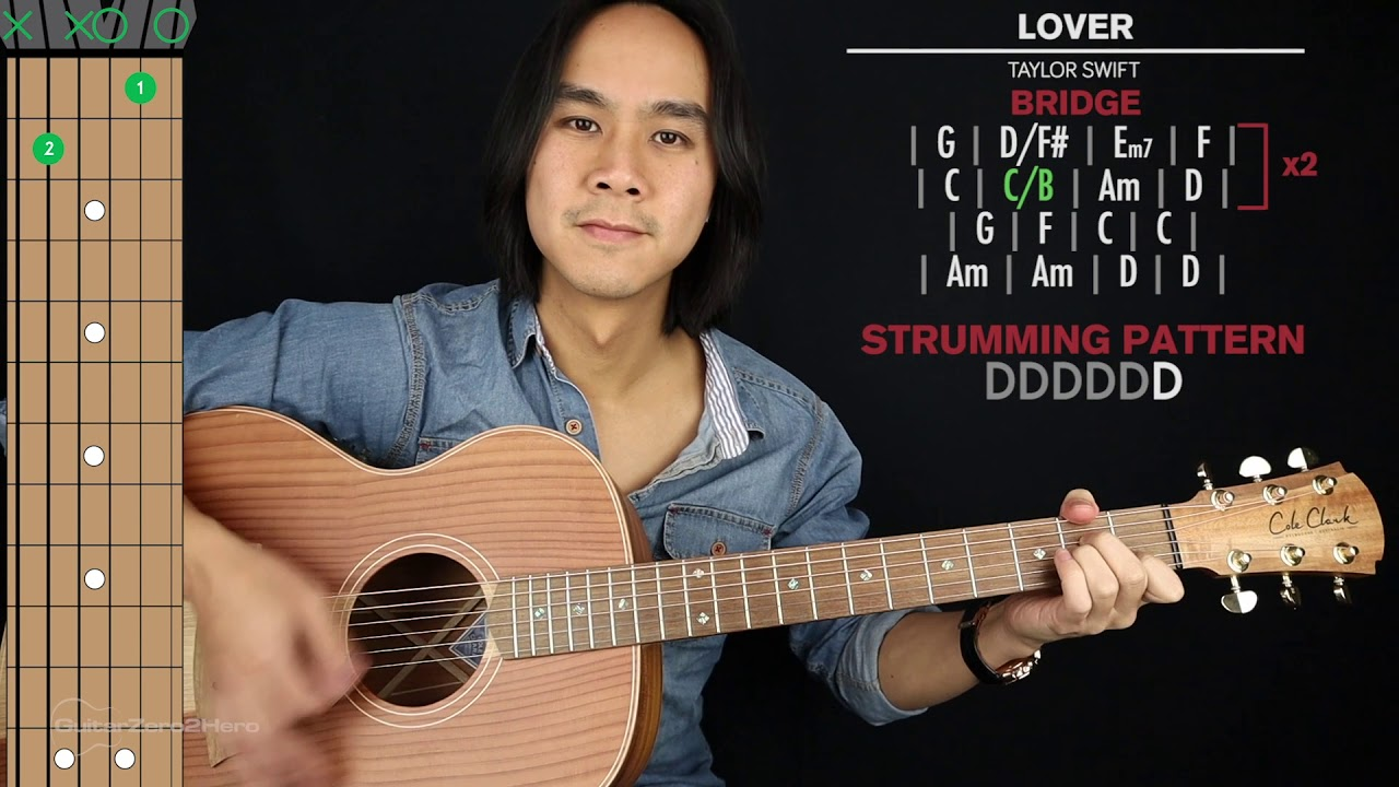 Lover Guitar Cover Taylor Swift 🎸|Tabs + Chords| – learn