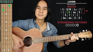 Lover Guitar Cover Taylor Swift 🎸|Tabs + Chords| Video