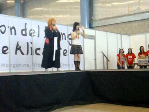I Salón del manga de Alicante *Ganadoras del concurso de Karaoke*