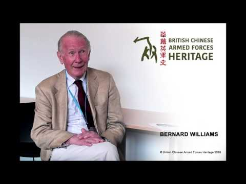 Bernard Williams Audio Interview