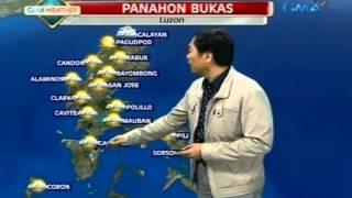 24Oras: Pagasa: Hanging amihan at intertropical convergence zone, magpapaulan sa bansa