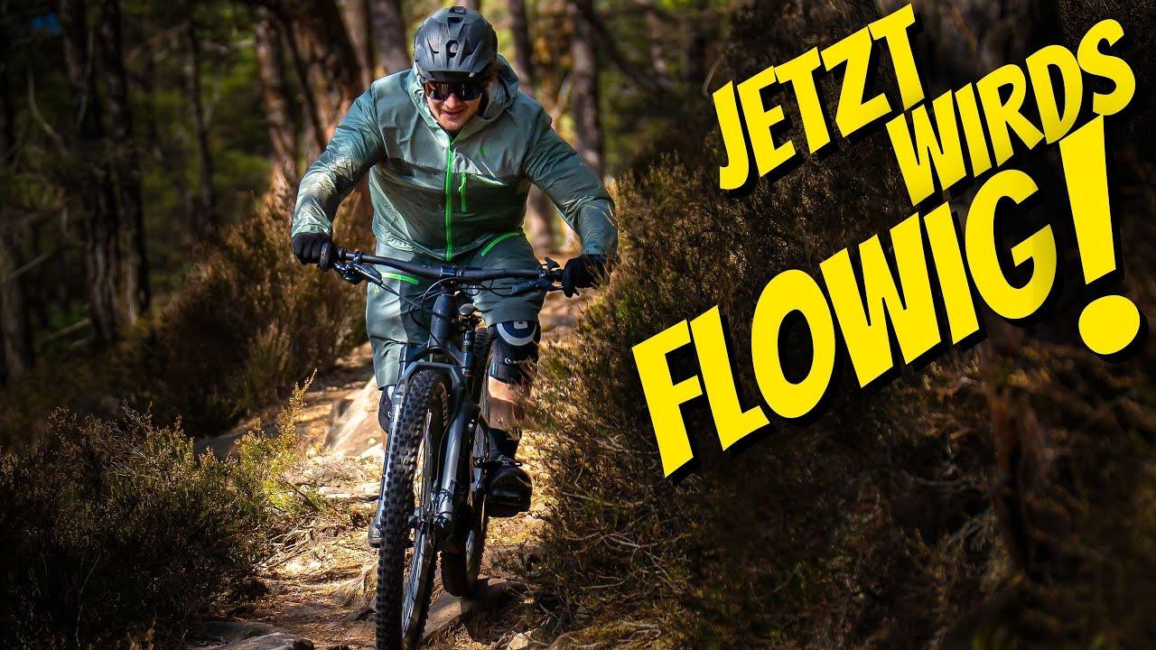 Legale Mountainbike Strecke am Königstuhl - Flowtrail in Heidelberg   toffer