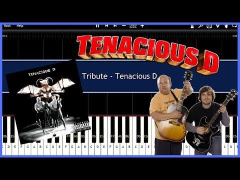 Tribute  Tenacious D Synthesia Tutorial Instrumental  Download