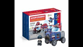 Magformers Police and Rescue Set
