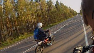 Покатушки На Минск 125, Irbis ttr 125, Irbis Virago - Карьер (Rurally Style)
