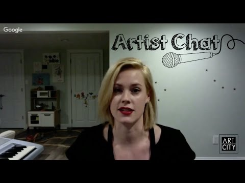 Blue Bloods' Abigail Hawk  Artist Chat Ep. 5  ART CITY