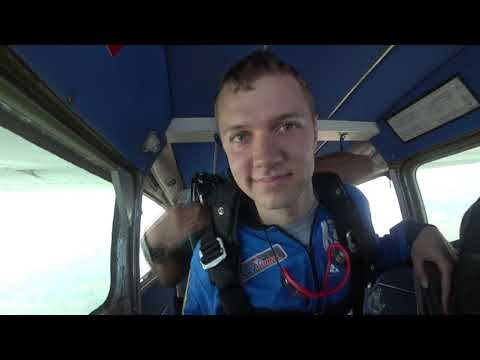 Tim Goes Skydiving at Wisconsin Skydiving Center 9/15/18