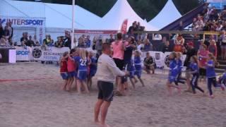 Huddinge F05 tar hem Åhus Beachhandbollsturnering -15