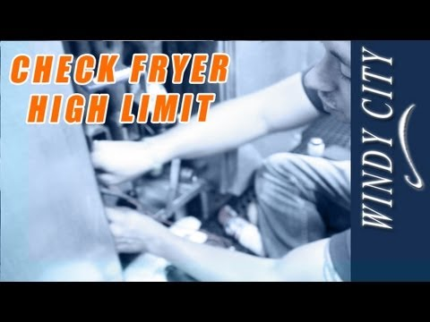 How to check fryer high limit tutorial DIY Windy City Restaurant – Imperial Fryer Wiring-diagram