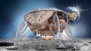 SpaceIL Reveals the New Spacecraft Design