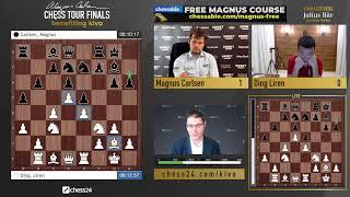 Carlsen vs. Ding Liren | MCCT Semi-finals | Day 4