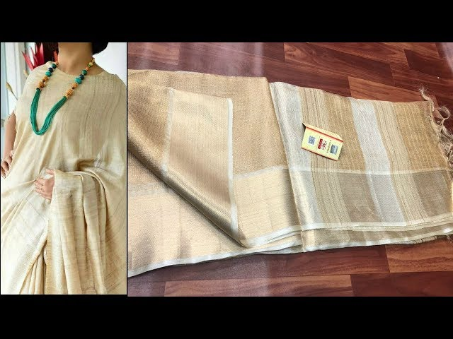 10 Pure Tussar Silk Sarees With Price To Buy Online